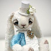 Куклы и игрушки ручной работы. Ярмарка Мастеров - ручная работа Белый кролик Модестас ADOPTED. Handmade.