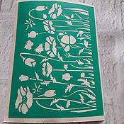 Материалы для творчества handmade. Livemaster - original item Copy of Copy of Copy of Copy of Copy of f stencils adhesive. Handmade.