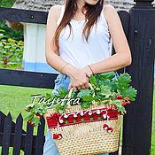 Классическая сумка ручной работы. Ярмарка Мастеров - ручная работа Сумочка ручной работы, плетеная сумка декорированная в этно стиле. Handmade.