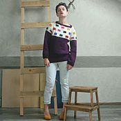 """Одежда ручной работы. Ярмарка Мастеров - ручная работа Джемпер """"Fashion #3"""". Handmade."""