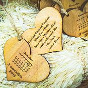 Свадебный салон ручной работы. Ярмарка Мастеров - ручная работа Приглашение на свадьбу в стиле Рустик. Handmade.