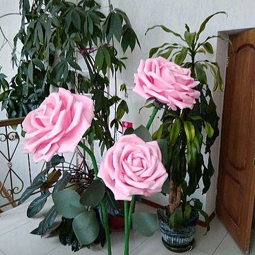 Свадебный салон ручной работы. Ярмарка Мастеров - ручная работа Розы из изолона.. Handmade.