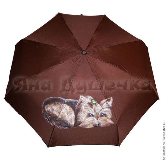 зонт с ручной росписью `Йорк`