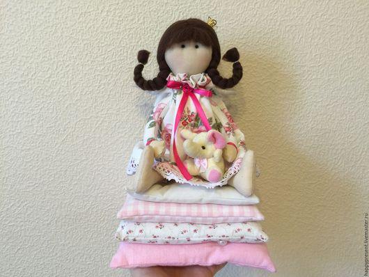 Куклы Тильды ручной работы. Ярмарка Мастеров - ручная работа. Купить Принцесса на горошине. Handmade. Комбинированный, для спальни, слоник