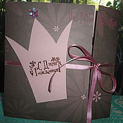 """Открытки ручной работы. Ярмарка Мастеров - ручная работа Открытка на День Рождения """"Маленькая Принцесса"""". Handmade."""
