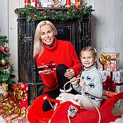 Фото ручной работы. Ярмарка Мастеров - ручная работа Новогодние семейные фотосессии. Handmade.