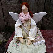 Куклы и игрушки ручной работы. Ярмарка Мастеров - ручная работа Феечка в стиле  бохо для Светланы. Handmade.