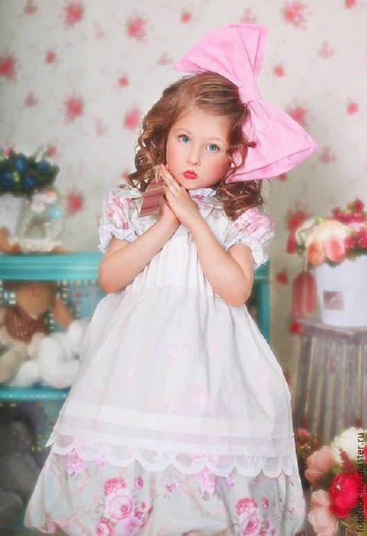 Одежда для девочек, ручной работы. Ярмарка Мастеров - ручная работа. Купить Детское платье для фотосессии. Handmade. Комбинированный, платье для девочки