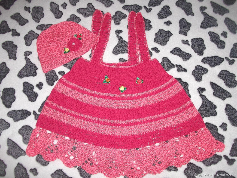 Комплект платье и шляпка
