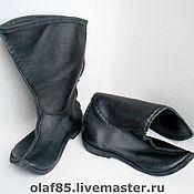 Обувь ручной работы. Ярмарка Мастеров - ручная работа Сапоги ручной работы. Сапоги из натуральной кожи. Handmade.