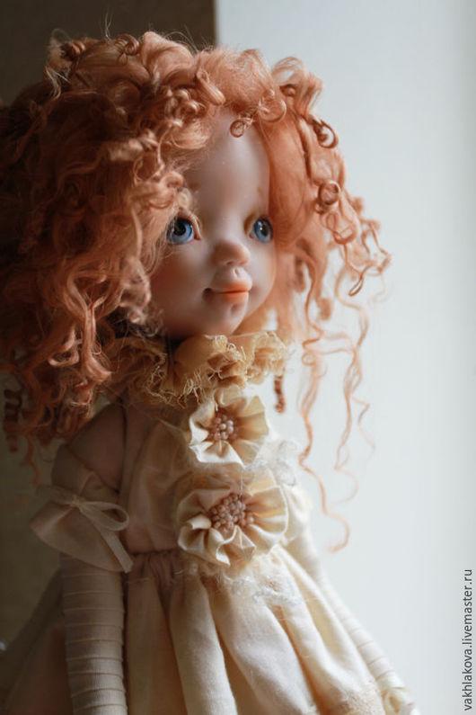 Коллекционные куклы ручной работы. Ярмарка Мастеров - ручная работа. Купить Кукла авторская коллекционная Барбора. Handmade. Бежевый