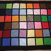 Для дома и интерьера ручной работы. Ярмарка Мастеров - ручная работа Одеяло покрывало Радуга. Handmade.