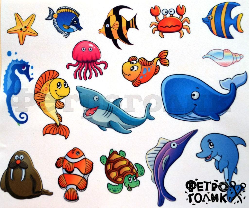 Картинки осьминога для детей
