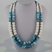 Украшения handmade. Livemaster - original item Necklace of agates