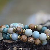 Bead bracelet handmade. Livemaster - original item HAPPINESS mascot