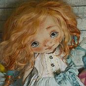 Куклы и игрушки ручной работы. Ярмарка Мастеров - ручная работа малышка Мэгги в нежно-голубом. Handmade.