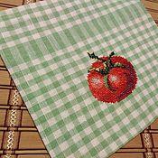 Для дома и интерьера handmade. Livemaster - original item Linen reusable green bags for vegetables. Handmade.