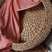 """Для дома и интерьера ручной работы. Ярмарка Мастеров - ручная работа Корзина плетеная """"Бублик"""". Handmade."""