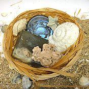 Косметика ручной работы. Ярмарка Мастеров - ручная работа Натуральное мыло морское дно Набор мыла Подарок мужчине. Handmade.