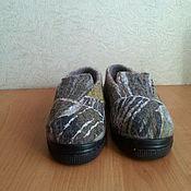 """Обувь ручной работы. Ярмарка Мастеров - ручная работа Валяные туфли  """"Лучик света"""". Handmade."""
