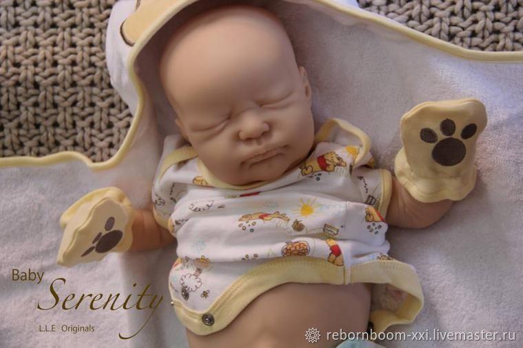 """Лимит-ный, распроданный Молд """"Serenity"""" от Laura Lee Eagles, Заготовки для кукол и игрушек, Москва,  Фото №1"""