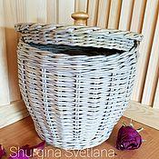 Для дома и интерьера handmade. Livemaster - original item Braided barrel. Handmade.