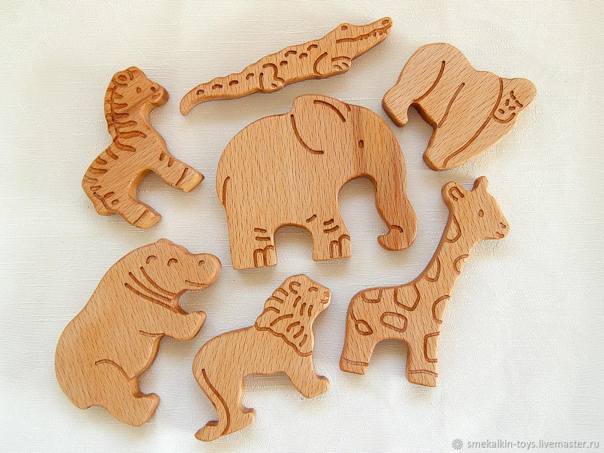 Фигурки из дерева своими руками животные