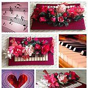 Цветы и флористика ручной работы. Ярмарка Мастеров - ручная работа Композиции из цветочков с конфетами. Handmade.
