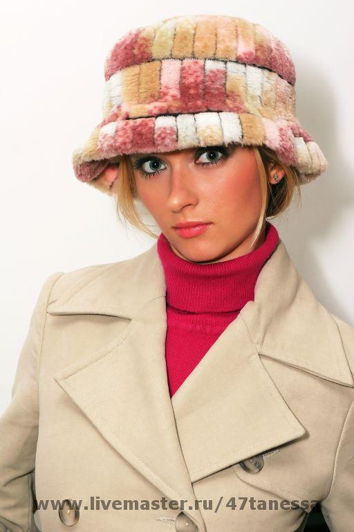Шляпы ручной работы. Ярмарка Мастеров - ручная работа. Купить Авторская шляпа из искусственного меха. Handmade. Мех искусственный