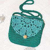 Работы для детей, ручной работы. Ярмарка Мастеров - ручная работа Летняя сумочка для девочки. Handmade.