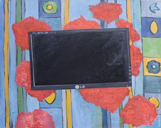 Символизм ручной работы. Ярмарка Мастеров - ручная работа. Купить Абстракция. Handmade. Черный, Живопись, продажа, интерьер, искусство