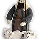 """Человечки ручной работы. """"Рождественский вертеп"""". Светлана Теницкая. Ярмарка Мастеров. Рождество 2016, христианство, акриловая пряжа"""