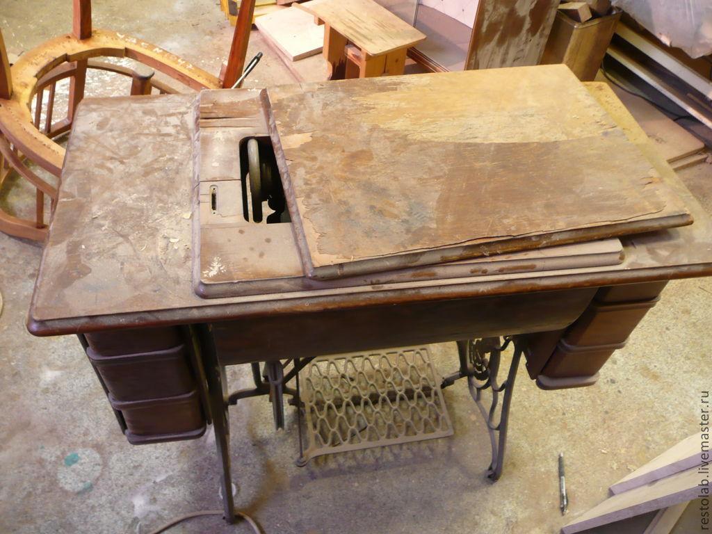 Реставрация швейной машинки зингер своими руками 291
