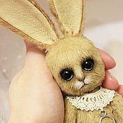 Куклы и игрушки ручной работы. Ярмарка Мастеров - ручная работа Храбрый заяц. Handmade.