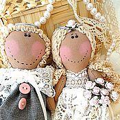 Свадебный салон ручной работы. Ярмарка Мастеров - ручная работа Жених и невеста - ангелы, подарок на свадьбу. Handmade.