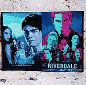 Канцелярские товары handmade. Livemaster - original item Leather cover passport Riverdale Riverdale Riverdale Archie Gagged. Handmade.