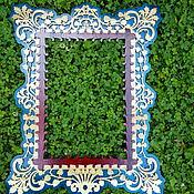 Для дома и интерьера ручной работы. Ярмарка Мастеров - ручная работа Рама для зеркала. Handmade.