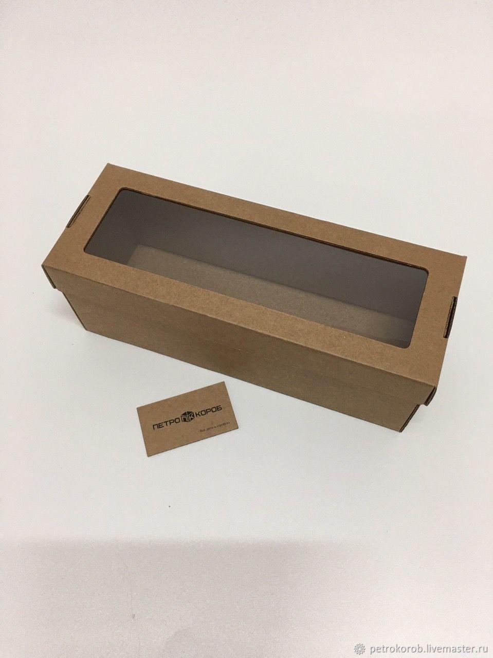 33х12х12см Самособорная коробка бурая, Коробки, Санкт-Петербург,  Фото №1