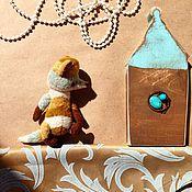 Куклы и игрушки ручной работы. Ярмарка Мастеров - ручная работа Шеврон. Лис.. Handmade.