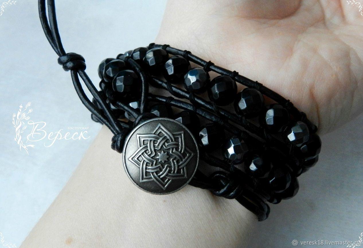 A charm bracelet style Chan Luu agate and hematite, Amulet, Izhevsk,  Фото №1