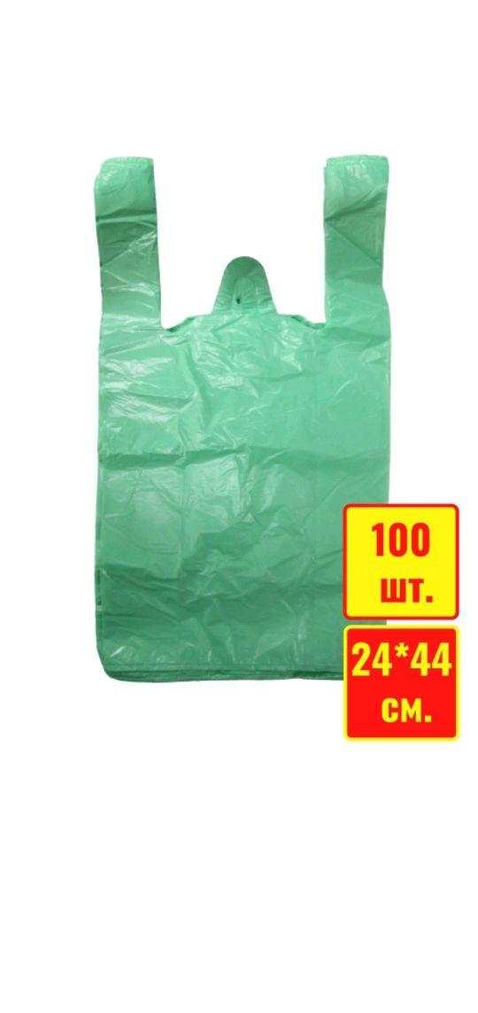 "Пакеты ""Майка"", 100 штук, Сумка-мешок, Санкт-Петербург,  Фото №1"