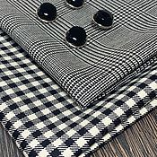 Ткани ручной работы. Ярмарка Мастеров - ручная работа Ткани: итальянская шерсть в клетку. Handmade.