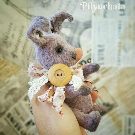 Мишки Тедди ручной работы. Ярмарка Мастеров - ручная работа. Купить Кролик Луи. Handmade. Кролик, друзья тедди
