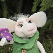 Куклы и игрушки ручной работы. Ярмарка Мастеров - ручная работа Мышка Венди. Handmade.