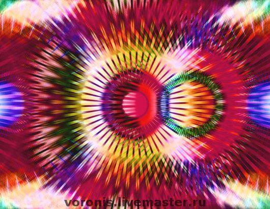Абстракция ручной работы. Ярмарка Мастеров - ручная работа. Купить Цифровая картина 28.5х41. Handmade.