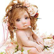 """Куклы и игрушки ручной работы. Ярмарка Мастеров - ручная работа Кукла """"Розовый бутон"""". Handmade."""