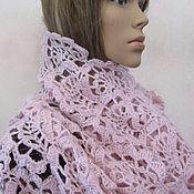 Аксессуары handmade. Livemaster - original item Pink-lilac stole.. Handmade.