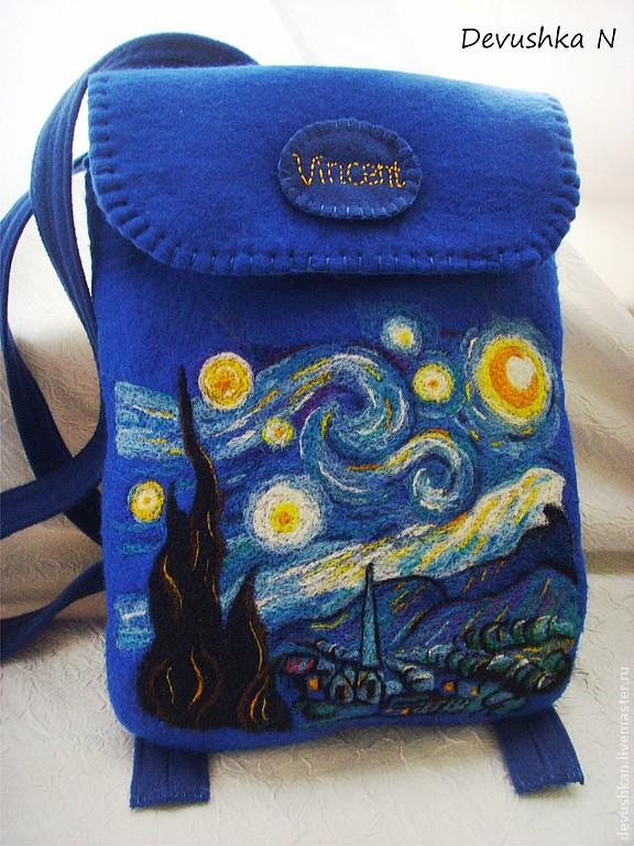 Новый мастер класс рюкзак