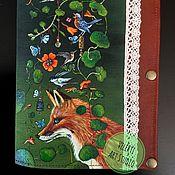 """Канцелярские товары ручной работы. Ярмарка Мастеров - ручная работа Холдер для документов """"Fabulous Fox"""". Handmade."""