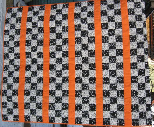 """Текстиль, ковры ручной работы. Ярмарка Мастеров - ручная работа. Купить Лоскутное одеяло из 100% американского хлопка. """"Мечта"""". Handmade."""